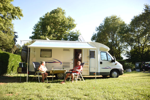 Camping-car | Camping de l'Ill Mulhouse Alsace